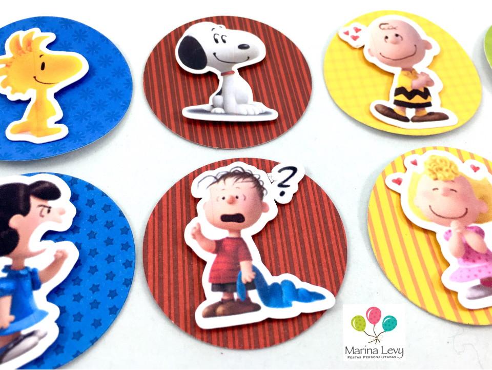 Aplique 3D - Snoopy