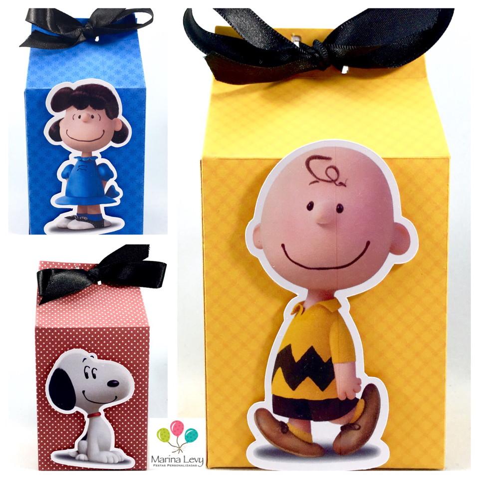 Caixinha Milk - Snoopy