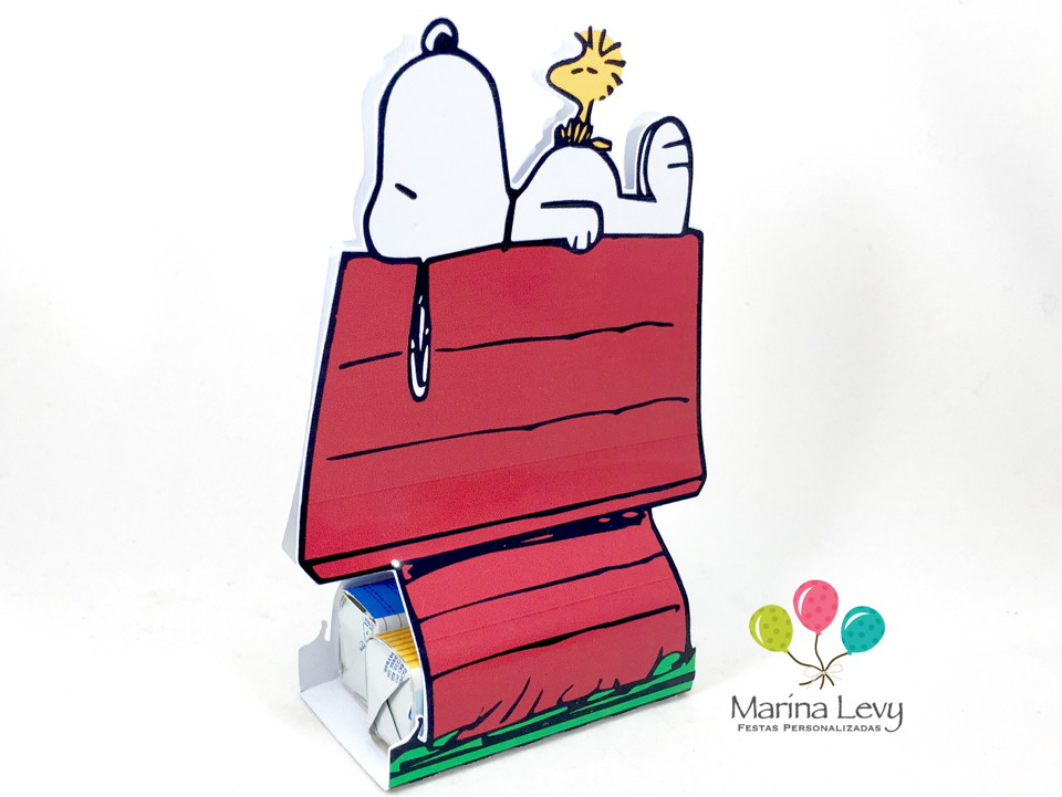 Display para 2 Bis -Casinha Snoopy  - Marina Levy Festas