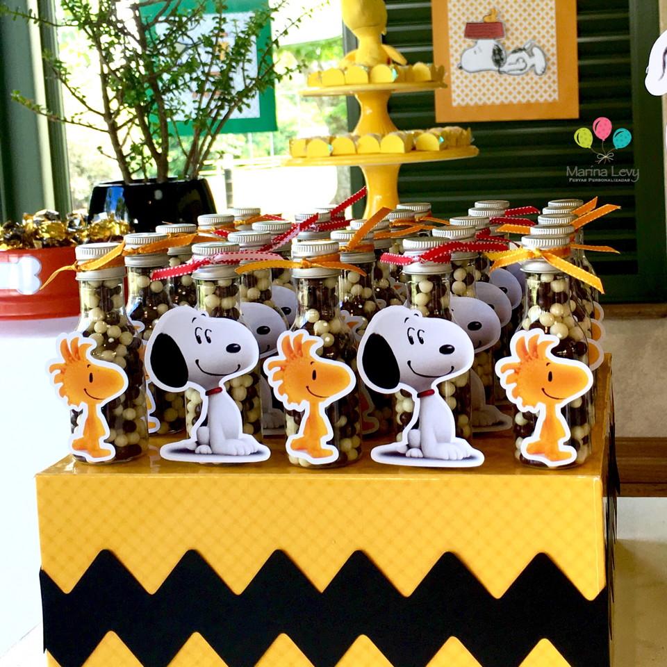 Garrafinha 50ml - Snoopy  - Marina Levy Festas