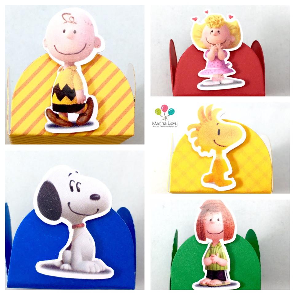 Kit c / 90 Forminhas - Snoopy