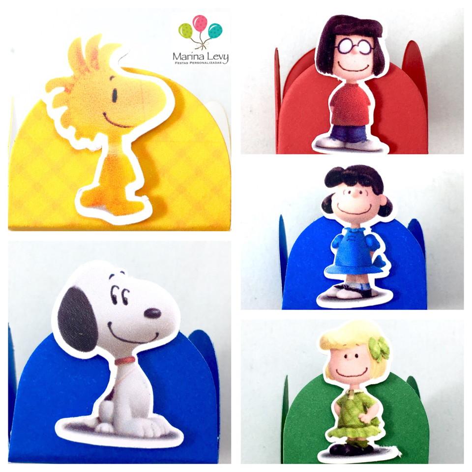 Kit c/ 180 Forminhas - Snoopy