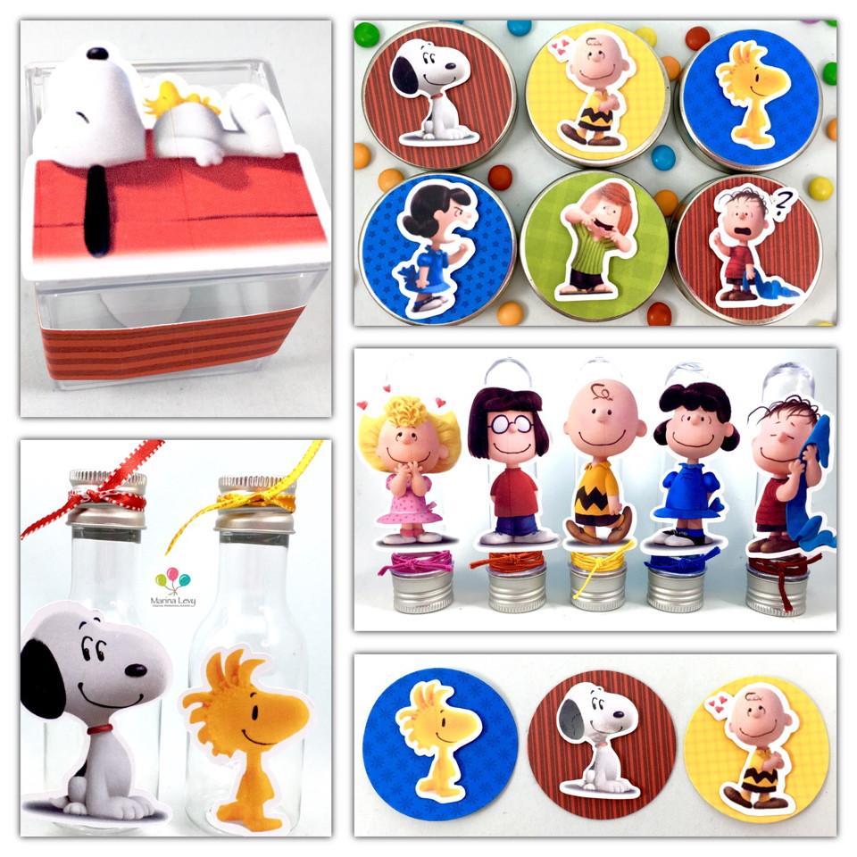 Kit Festa Premium 3D - Snoopy