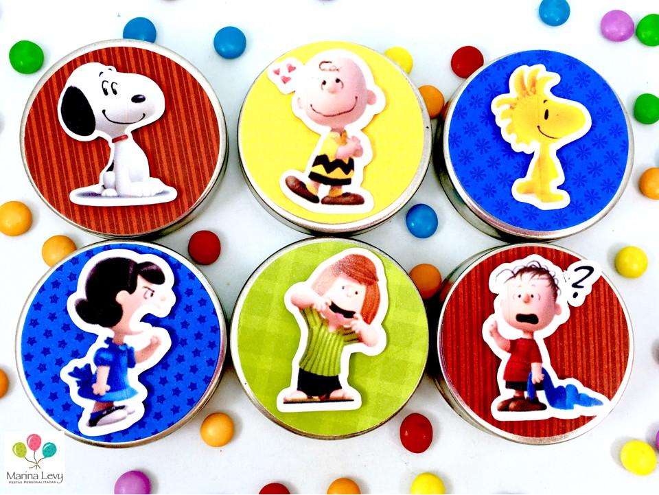 Latinha 3D - Snoopy