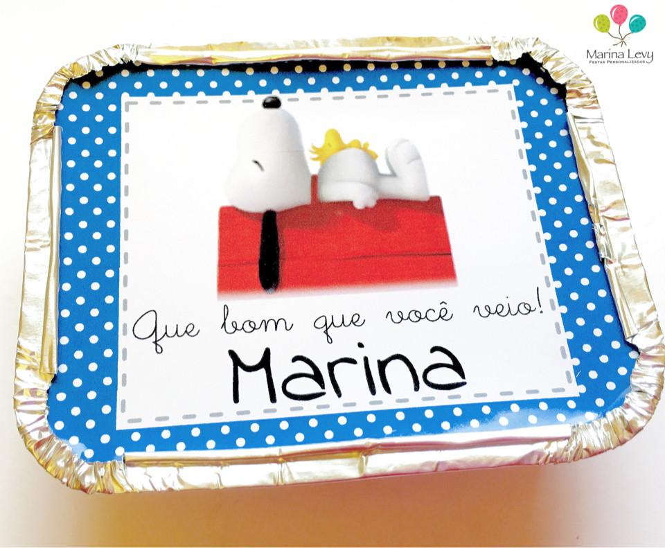 Mini Marmitinha - Snoopy