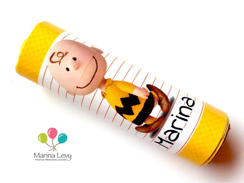 Rótulo Batom 12un. - Snoopy
