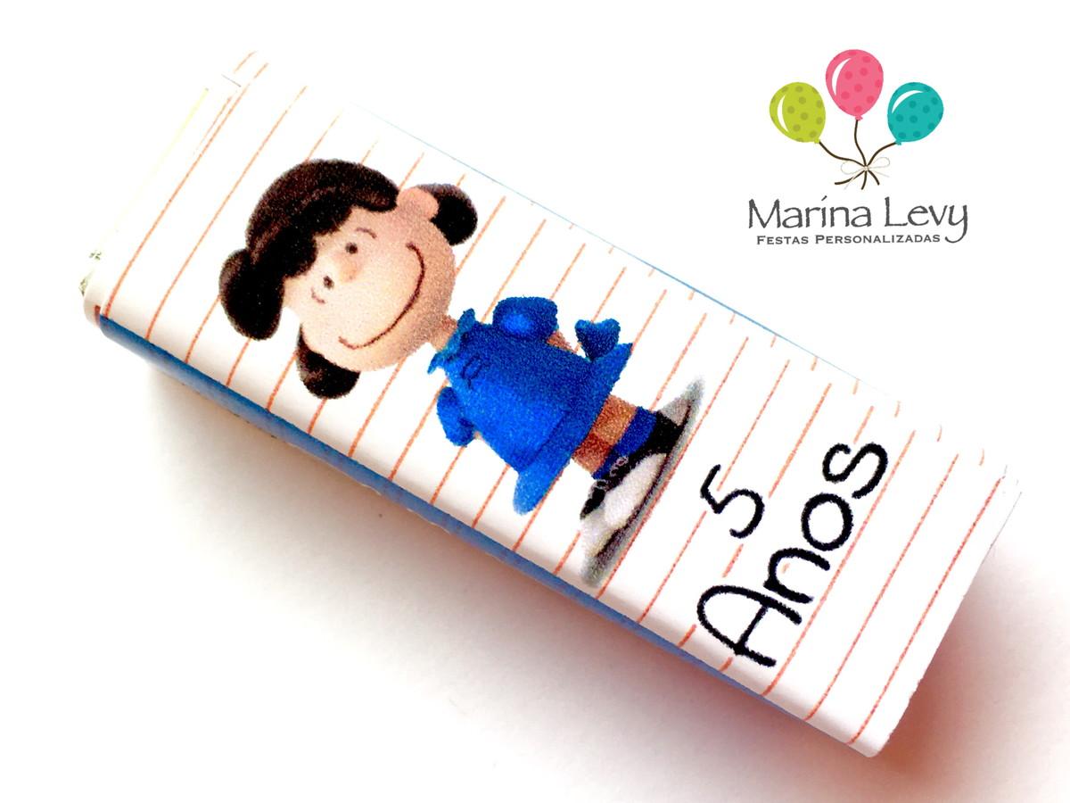 Rótulo Bis 15un. - Snoopy  - Marina Levy Festas