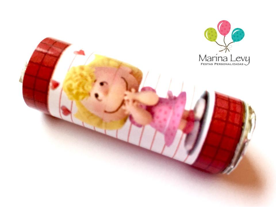 Rótulo Mini Mentos 18un. - Snoopy  - Marina Levy Festas