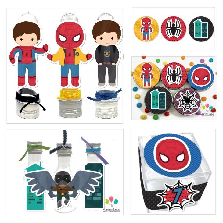1. Monte seu Kit - Homem Aranha