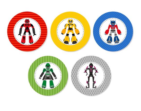 Aplique 3,5cm - Transformers