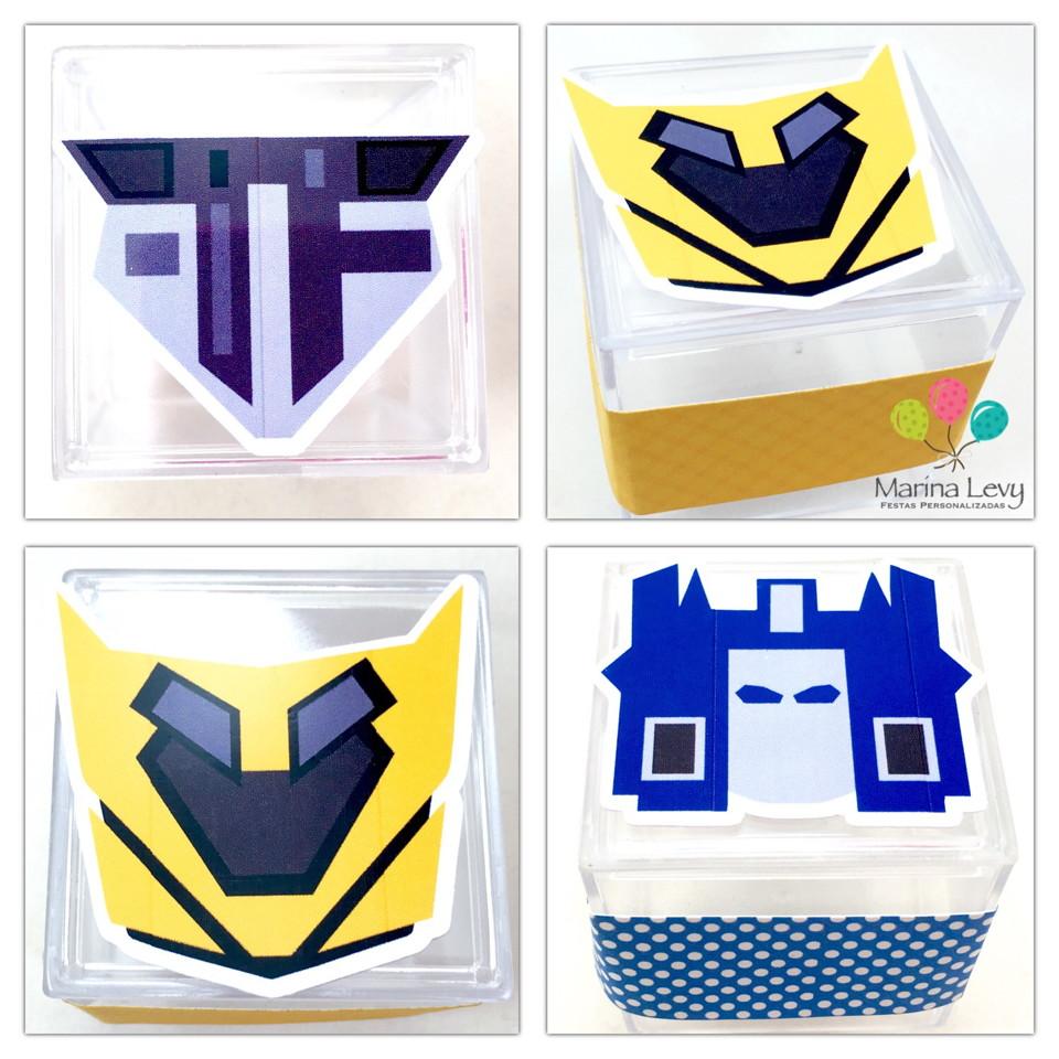 Caixinha Acrílico - Transformers