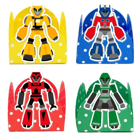 Forminha 3D - Transformers