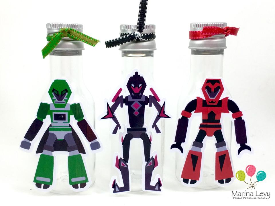 Garrafinha 50ml - Transformers