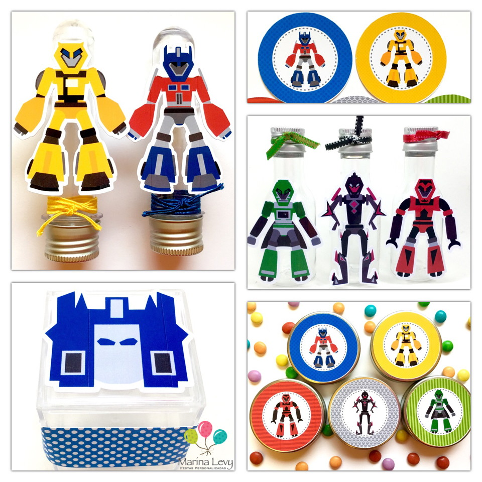 Kit Festa Premium - Transformers