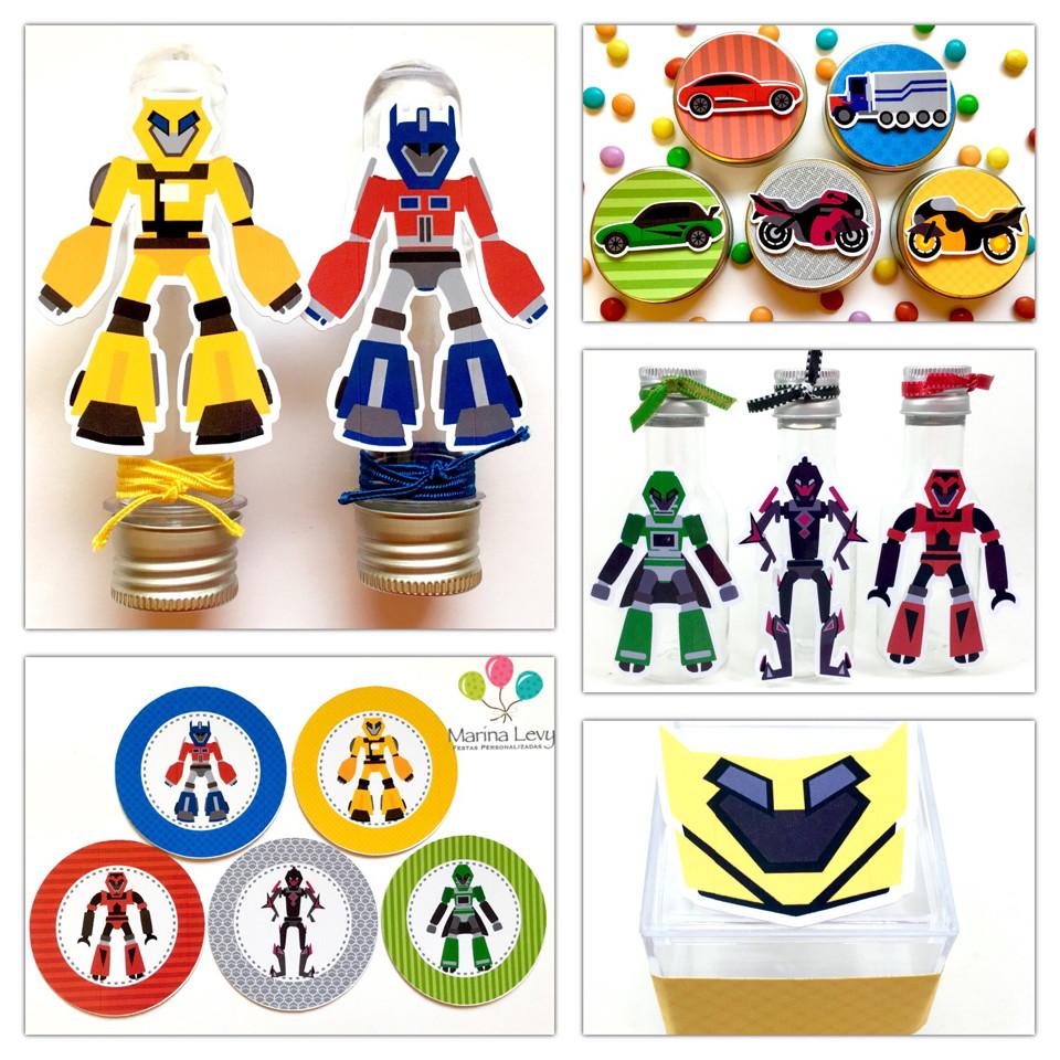 Kit Festa Premium 3D - Transformers