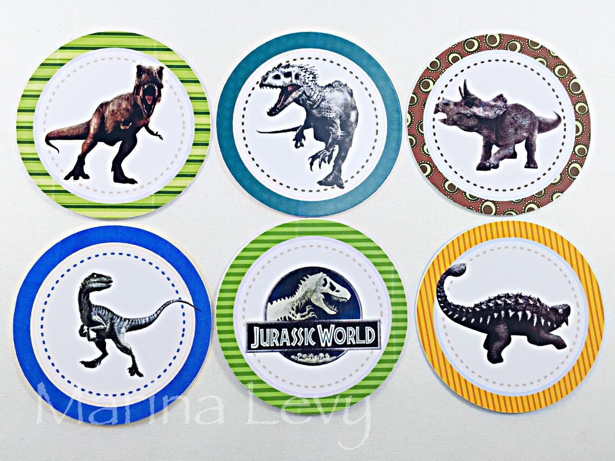 Aplique 3,5cm - Dinossauros