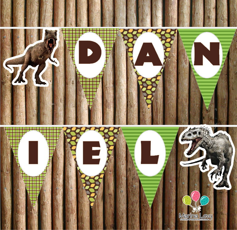 Bandeirola - Dinossauros