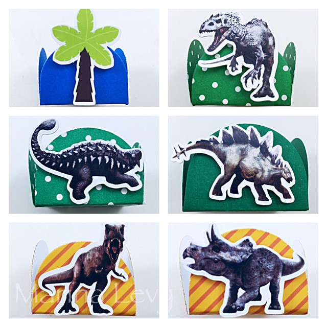 Kit c / 90 Forminhas - Dinossauros