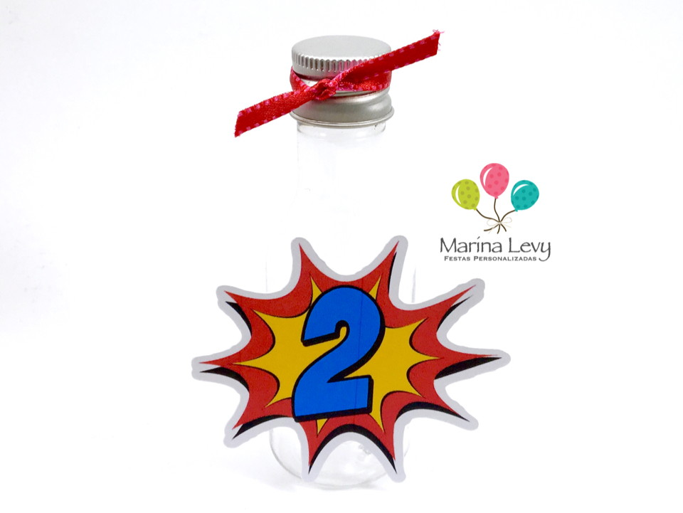 Kit Festa Premium 3D - Super Heroinas  - Marina Levy Festas