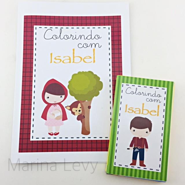 Kit Colorir - Chapeuzinho Vermelho
