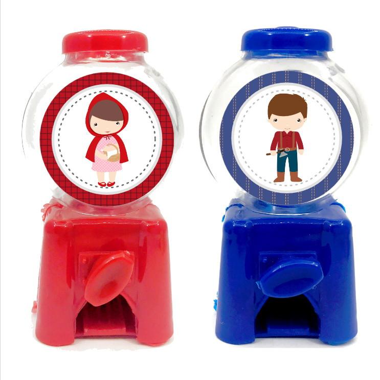 Mini Candy Machine - Chapeuzinho Vermelho