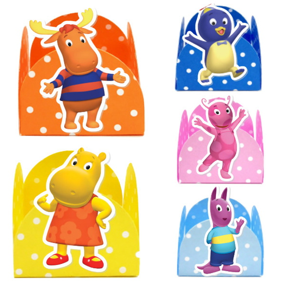 Forminha 3D - Backyardigans