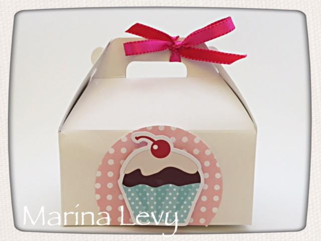 Caixinha Scrap - Cupcake