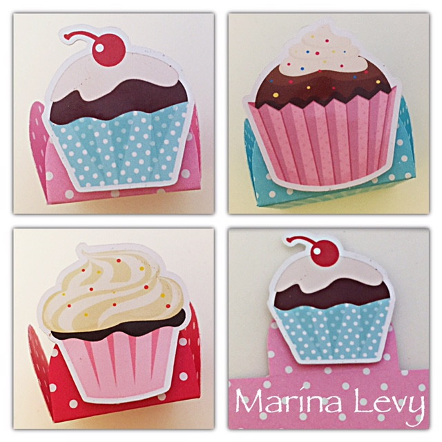Forminha 3D - Cupcake