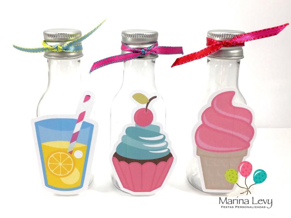 Garrafinha 50ml - Cupcake 1
