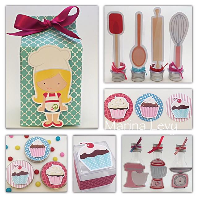 Kit Festa Scrap - Cupcake