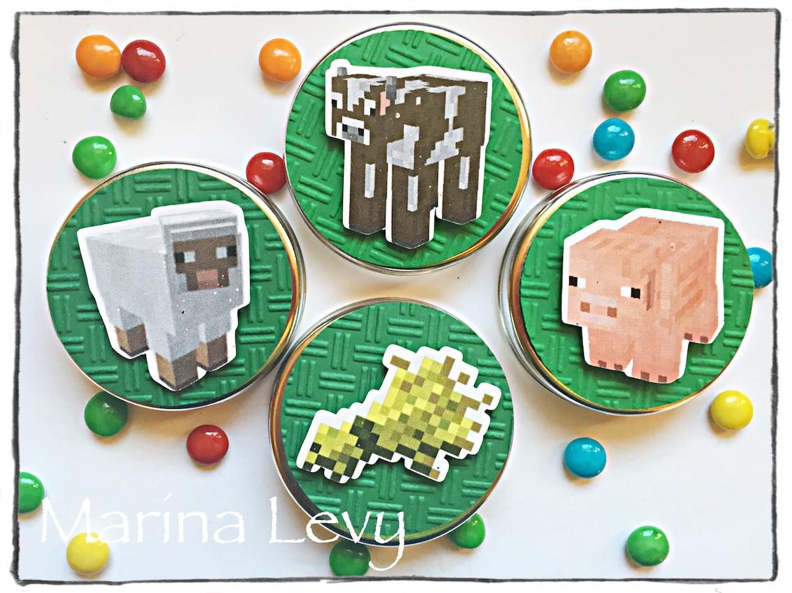 Latinha 3D - Minecraft