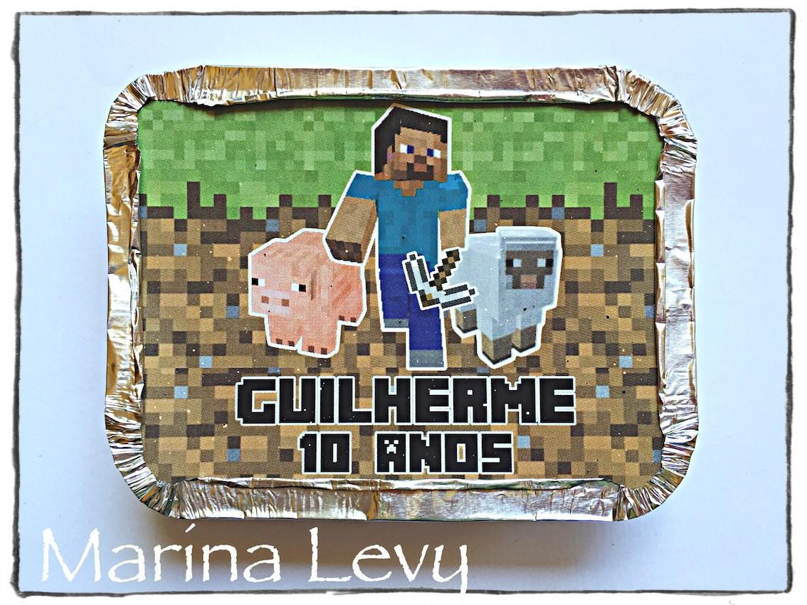 Mini Marmitinha - Minecraft