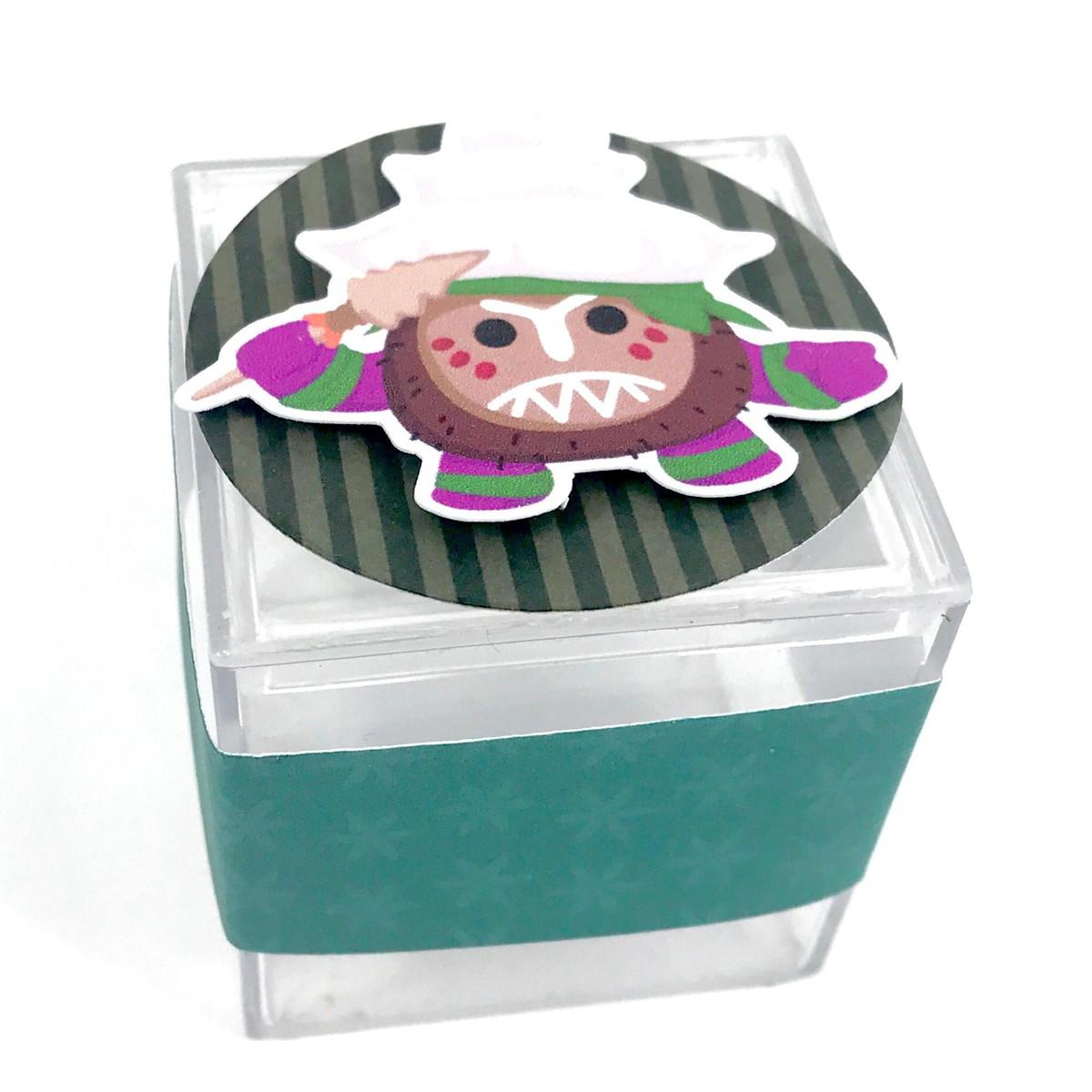 Caixinha Acrílico 3D - Moana  - Marina Levy Festas
