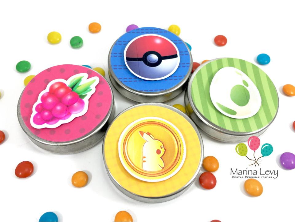 Latinha 3D - Pokemon