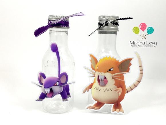 Garrafinha - Evolução Rattata