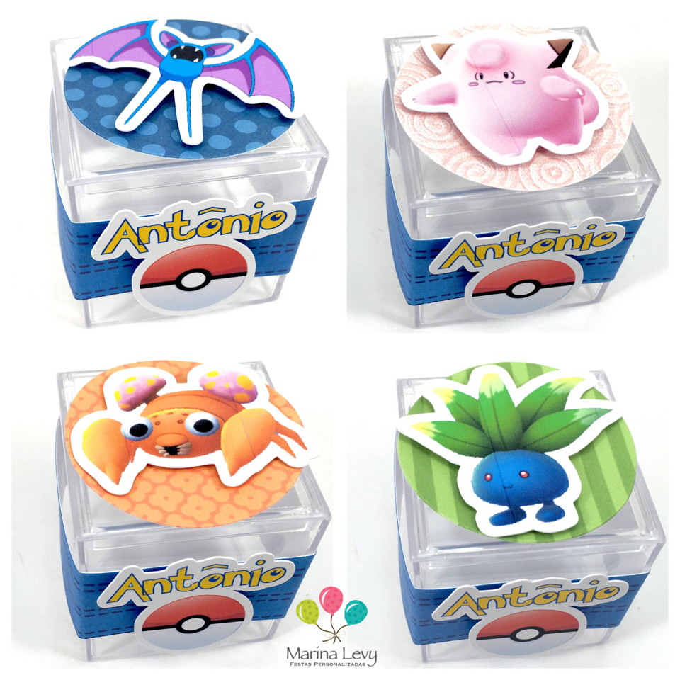 Kit Festa Completo - Pokemon  - Marina Levy Festas
