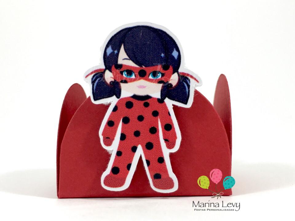 Kit c/ 180 Forminhas - LadyBug  - Marina Levy Festas