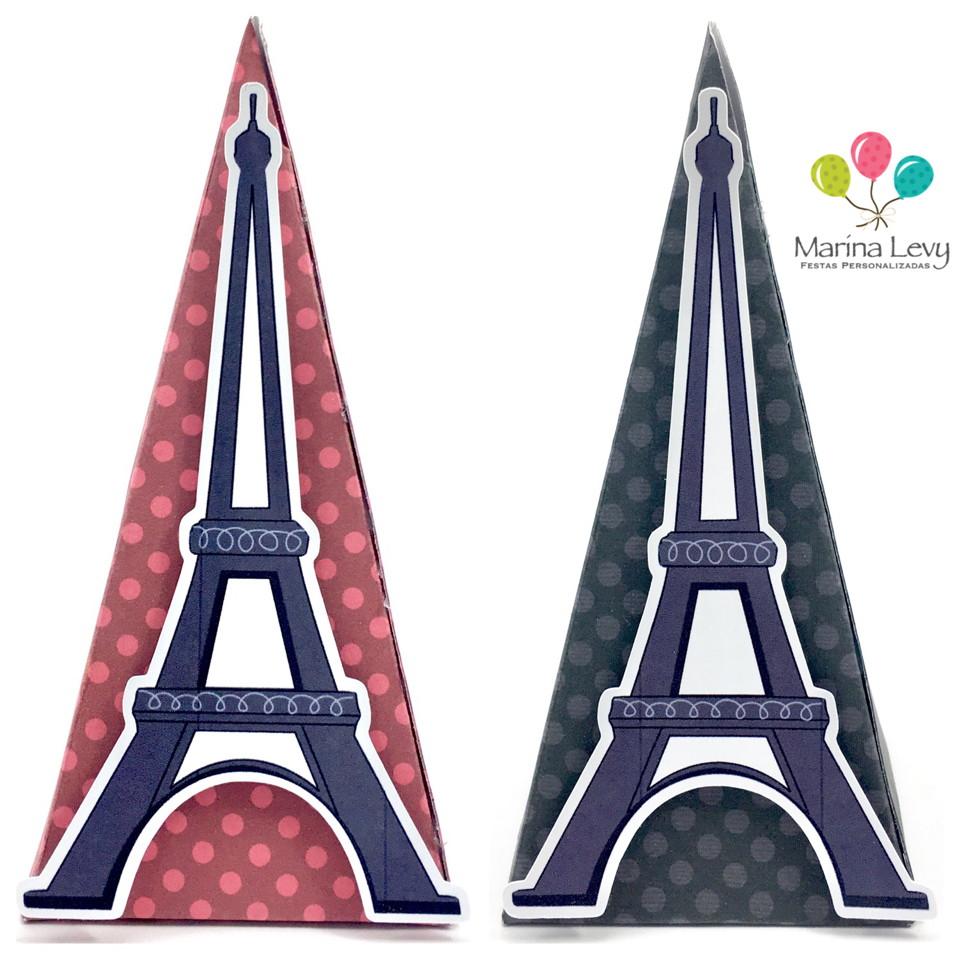 Cone Quadrado - Torre Eiffel