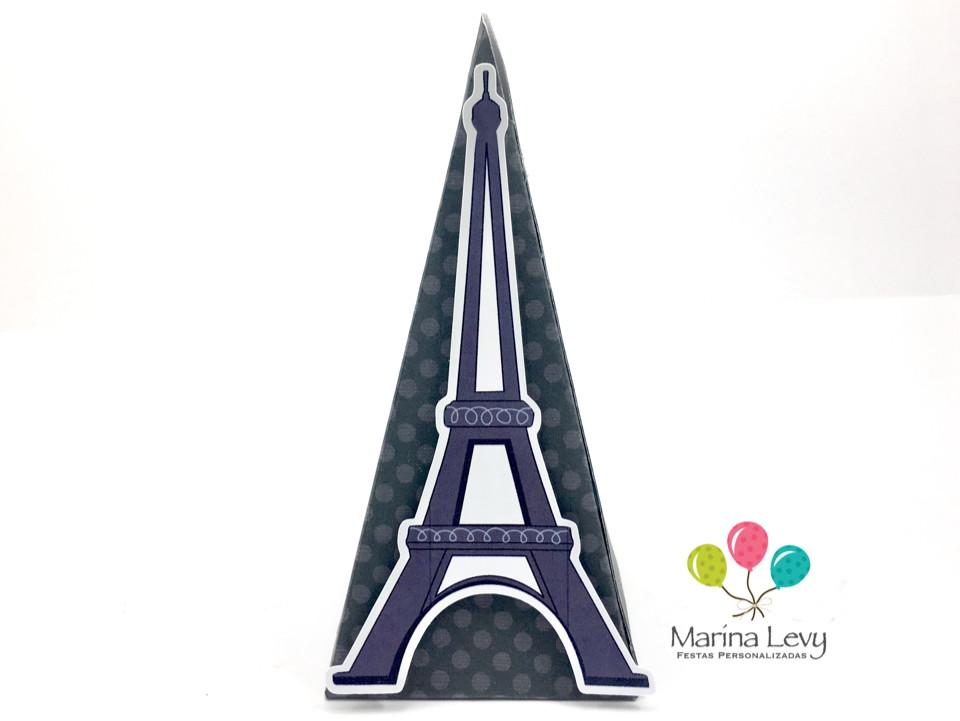 Cone Quadrado - Torre Eiffel  - Marina Levy Festas