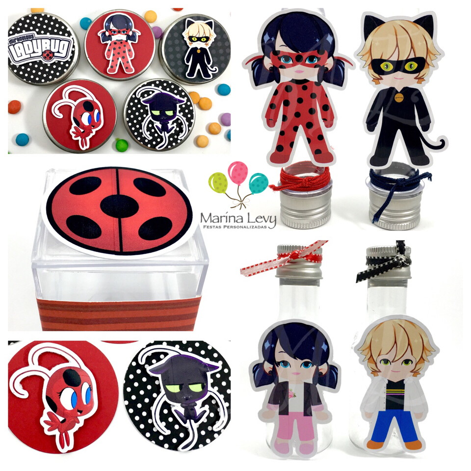 Kit Festa Premium 3D - LadyBug
