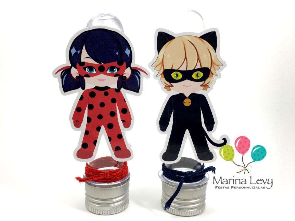Kit Festa Premium 3D - LadyBug  - Marina Levy Festas