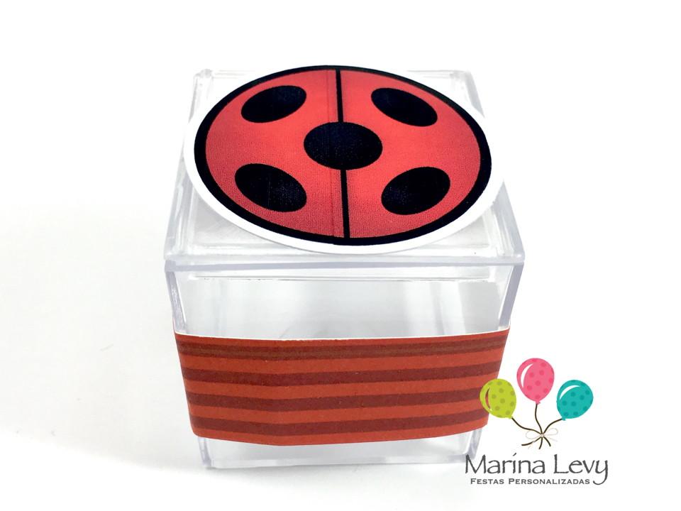 Kit Festa 150 Itens 3D - LadyBug  - Marina Levy Festas