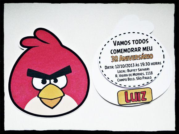 Angry Birds - Monte seu Kit  - Marina Levy Festas