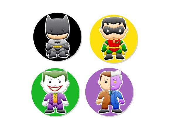 Aplique 3D - Batman