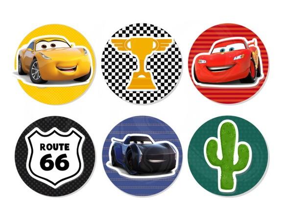 Aplique 3D - Carros 3