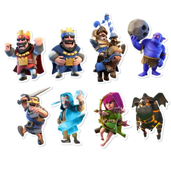 Aplique sem Fundo - Clash Royale