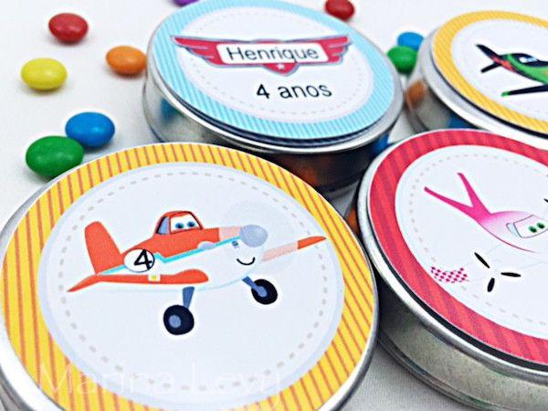 Aviões - Monte seu Kit  - Marina Levy Festas
