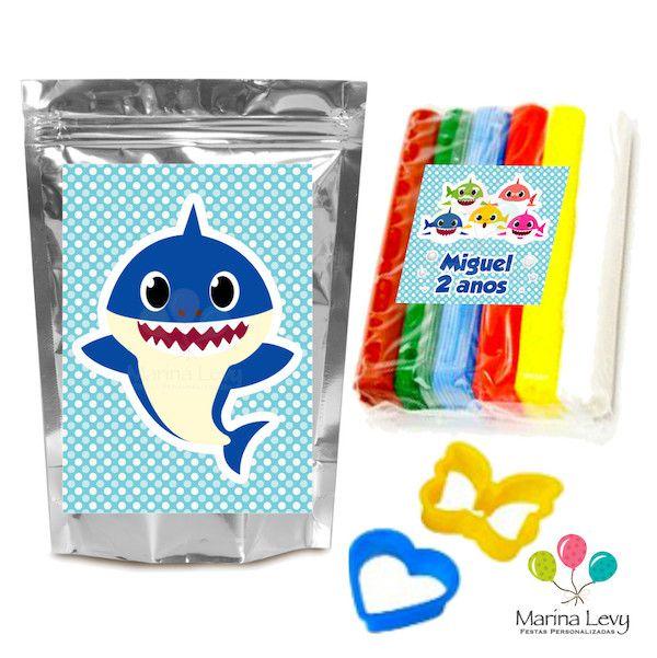 Baby Shark - Monte seu Kit  - Marina Levy Festas