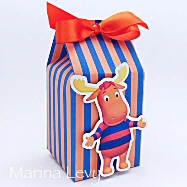 Backyardigans - Monte seu Kit  - Marina Levy Festas
