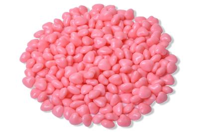 Balinhas Coração - Rosa;  - Marina Levy Festas